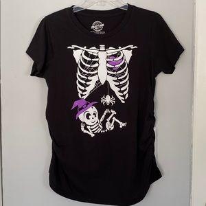 Women Crazy dog shirt/ Size:M